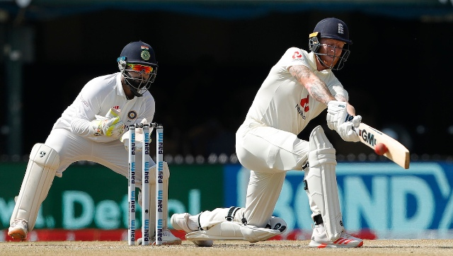 England's Ben Stokes in action during the second Test against India. Sportzpics