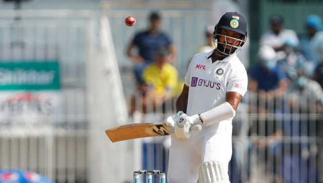 Mayank Agarwal is being used by India as a substitute fielder for Cheteshwar Pujara. Image: Sportzpics for BCCI