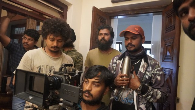 Director M Bharath Raj actorproducer Rishab Shetty on the making of Kannada film Hero during lockdown