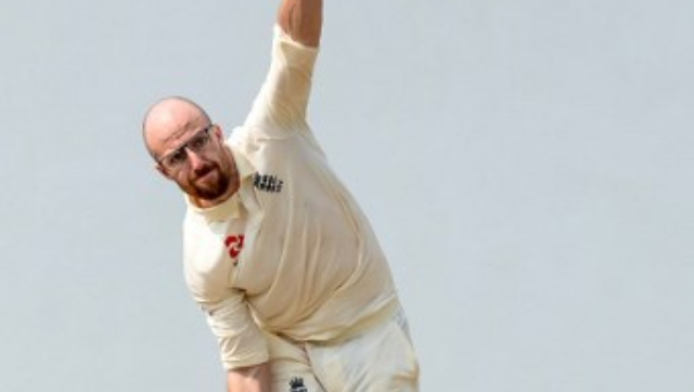 File image of Jack Leach. AFP