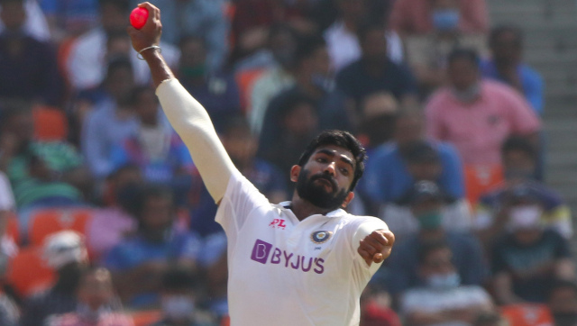 Jasprit Bumrah bowled a total of six overs in the third Test against England, all of them in the first innings. AP
