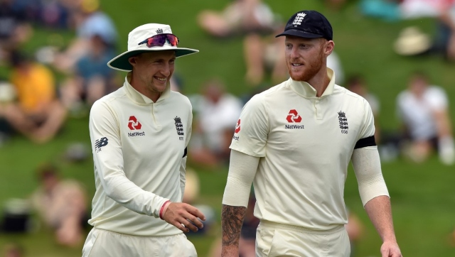 File image of England Test captain Joe Root and vice-captain Ben Stokes. AFP