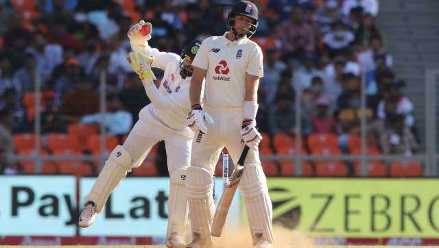 Joe Root (captain) of England during day two of the third PayTM test match between India and England held at the Narendra Modi Stadium , Ahmedabad, Gujarat, India on the 25th February 2021 Photo by Pankaj Nangia / Sportzpics for BCCI