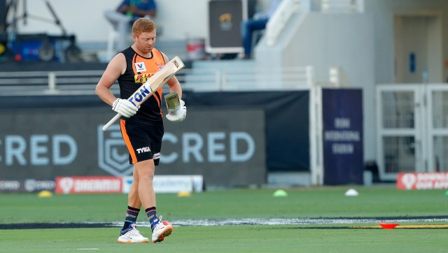 Jonny Bairstow is part of Sunrisers Hyderabad in IPL. Image: Sportzpics for BCCI