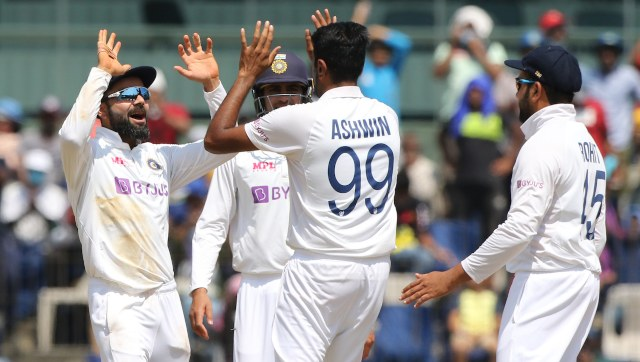 Ravichandran Ashwin achieved the feat by dismissing Ben Stokes. Image: Sportzpics for BCCI