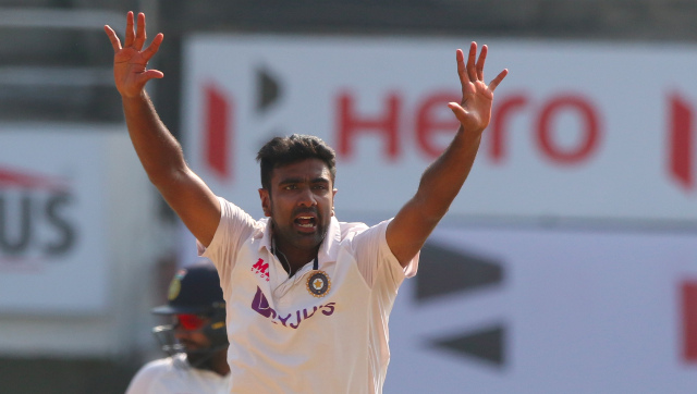 Ravichandran Ashwin grabbed 6/61 in England's second innings in the first Test to restrict them to 178, setting India a target of 420. Sportzpics