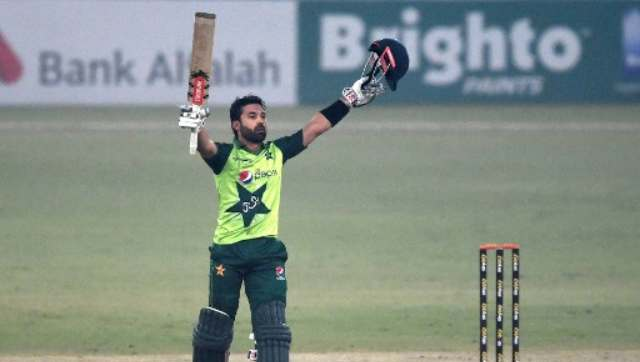 Mohammad Rizwan is the only second Pakistan batsmen to score a Twenty20 international century behind Ahmed Shehzad who achieved the feat in Dhaka against Bangladesh in the World Cup seven years ago. AFP