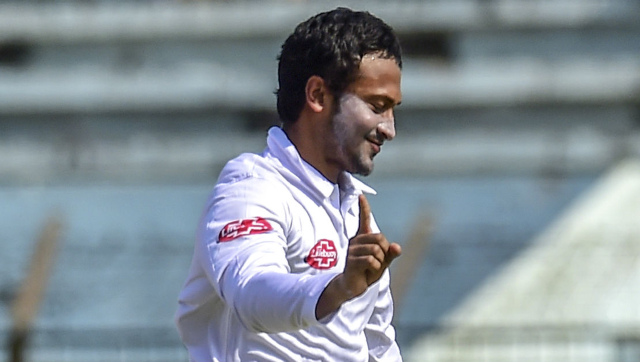 Shakib Al Hasan will make his first appearance in Test cricket in the upcoming series against West Indies since the ICC ban in September 2019. AFP