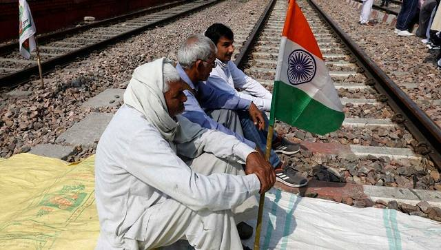 Farmers rail roko protest Turnout shows agitation not limited to Haryana Punjab say protesters
