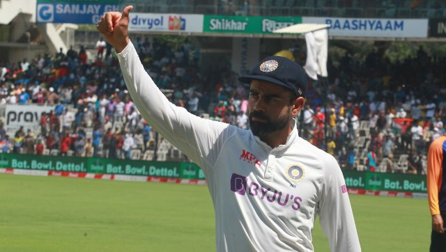 The Chennai pitch has been severly criticised by few former England cricketers for assisting spinners from Day 1. Image: Sportzpics for BCCI