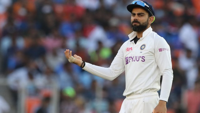 Virat Kohli felt there were no demons in the Ahmedabad pitch. Image: Sportzpics for BCCI