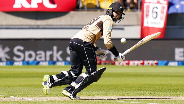 File image of New Zealand's Devon Conway. AP
