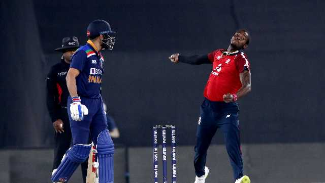"""A statement from the England and Wales Cricket Board said that """"Archer is returning to the UK for further management and investigation of his right elbow injury. Sportzpics"""