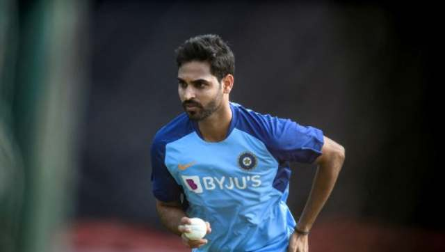 Bhuvneshwar Kumar will gear up for his first international appearance for India in almost two years. AFP