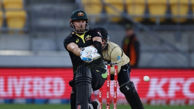 Captain Aaron Finch anchored the tourists' innings with a gritty 79, making him made him Australia's most prolific T20 international run scorer on 2,310, ahead of David Warner's 2,265. AFP