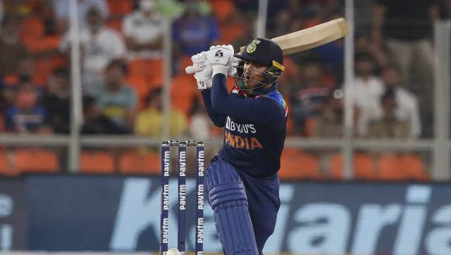 Ishan Kishan, known for his attacking batting, made a formidable England attack look ordinary with his disdainful hitting. His sensational knock comprised five fours and four sixes. Sportzpics