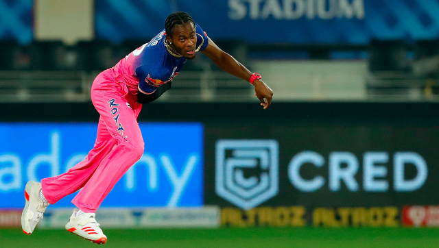 File image of Rajasthan Royals pacer Jofra Archer. Sportzpics