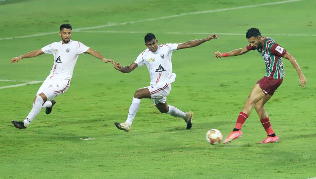 ISL 202021 ATK Mohun Bagan vs NorthEast United Roy Krishnas assists Luis Machados penalty miss and other talking points