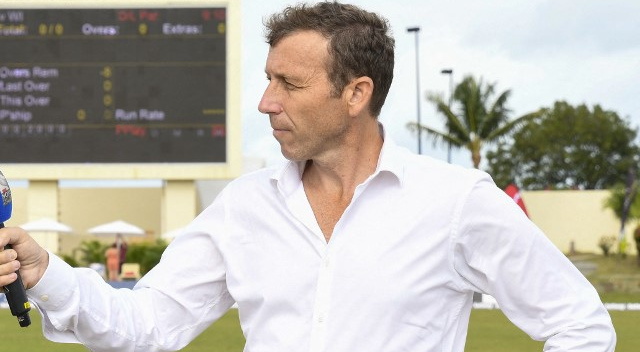 File image of cricketer-turned-commentator Mike Atherton. AFP