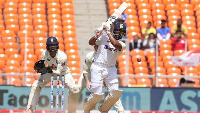 Rishabh Pant in action during day two of the fourth Test between India and England. Sportzpics