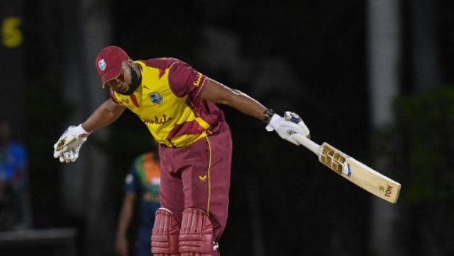 Kieron Pollard's barrage in the sixth over lifted the West Indies from 62-4 on the dismissal of Lendl Simmons to 92-4 and again had the home side coasting to victory. AFP