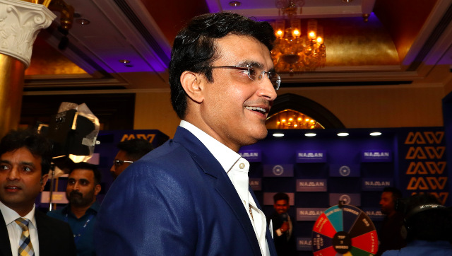 File image of BCCI president Sourav Ganguly. Sportzpics