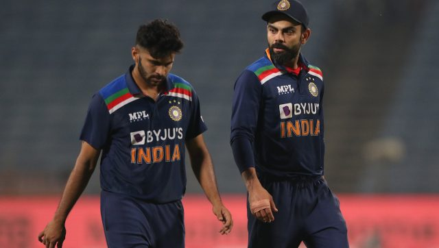 Virat Kohli also said Bhuvneshwar Kumar should have been the player of the series and not Jonny Bairstow. Image: Sportzpics for BCCI