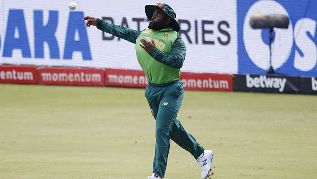 South Africa's captain Temba Bavuma in action during the first ODI against Pakistan. AFP