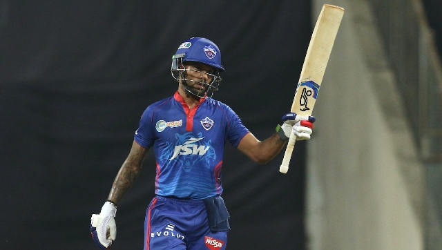 Shikhar Dhawan is the leading run getter in IPL 2021 at the moment. Sportzpics