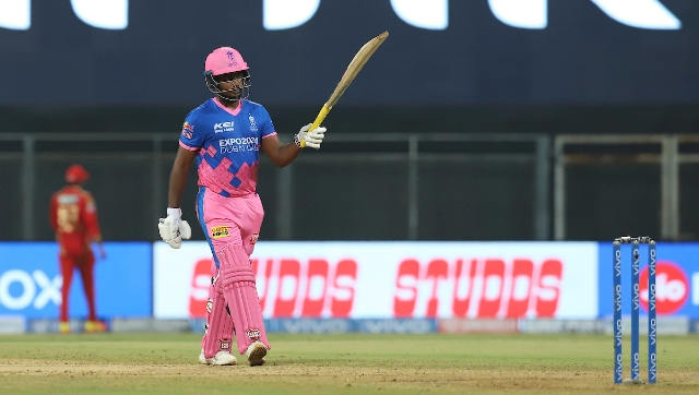RR's Sanju Samson became the first player to score a century on captaincy debut in IPL history. Sportzpics