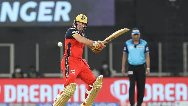 IPL 2021 photos Scintillating AB de Villiers bowlers save the day as RCB edge DC in lastball thriller