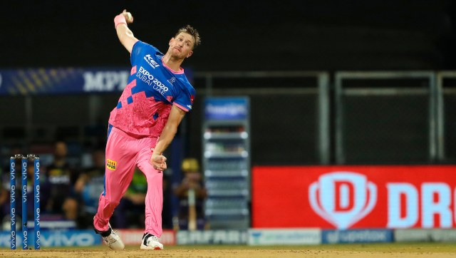 Chris Morris' four-wicket haul limited the Kolkata Knight Riders to a total of just 133, which was chased down by Rajasthan Royals for a 6 wicket win. SportzPics