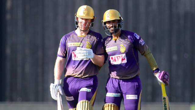Eoin Morgan took over the role of Kolkata Knight Riders captain from Dinesh Karthik in the middle of their 2020 campaign. Sportzpics