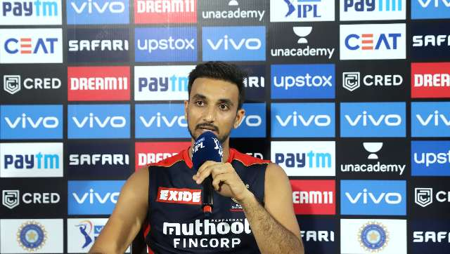 Harshal Patel said that change of pace and the slow yorkers have been his biggest strength. IPL Media