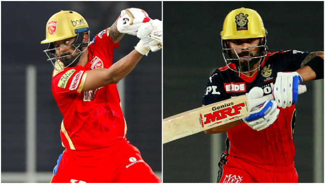 KL Rahul and Virat Kohli, captains of Punjab Kings and Royal Challengers Bangalore respectively. Sportzpics