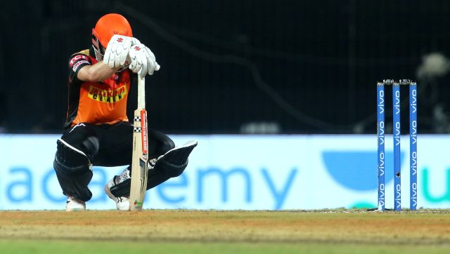 Kane Williamson's latest tryst with the Super Over came on Sunday night when his team Sunrisers Hyderabad failed to achieve the desired result in its IPL match against Delhi Capitals. Image: Sportzpics for IPL