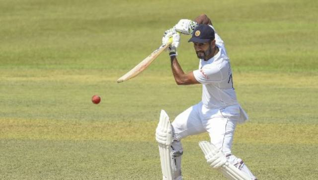 Dimuth Karunaratne and Fernando added 43 runs for the second wicket before Fernando was caught down the leg-side by wicketkeeper Liton Das off Taskin Ahmed. AFP