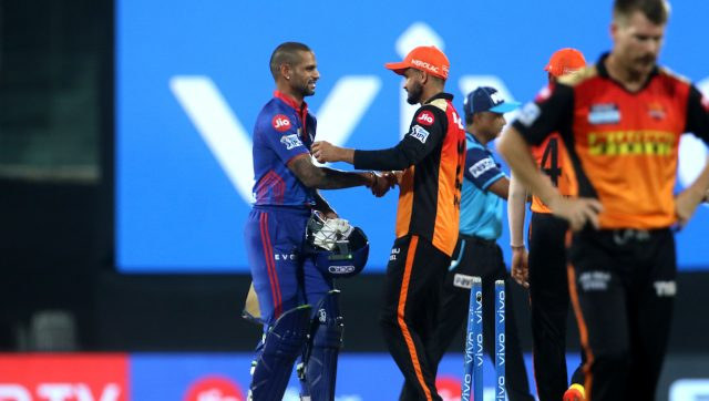 SRH dropped Manish Pandey to make place for Virat Singh against DC. Image: Sportzpics for IPL