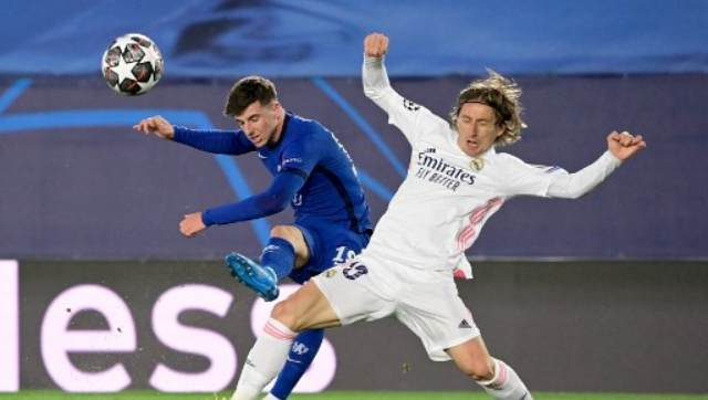 Champions League Chelsea go against the flow with defencefirst approach against Real Madrid to leave semis evenly poised