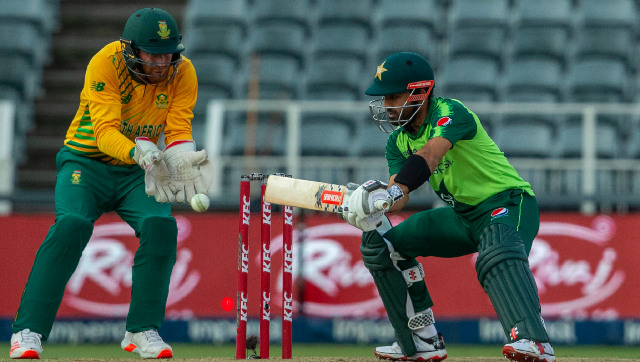 Pakistan wicketkeeper-batsman Mohammad Rizwan struck an unbeaten 74 to guide his team home in the first T20I. AP
