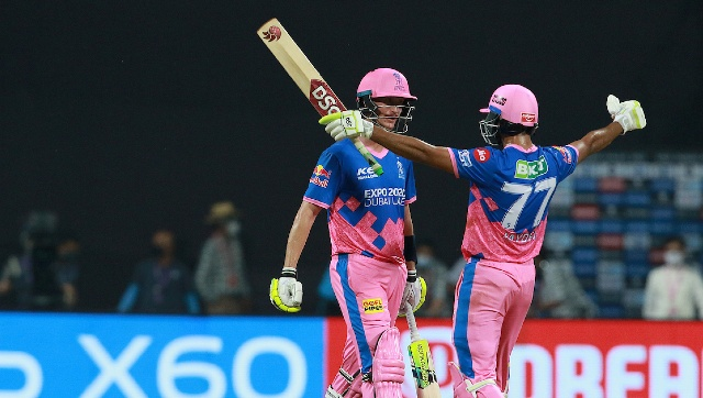 Chris Morris and Jaydev Unadkat were the key performers in RR's win over DC. Sportzpics