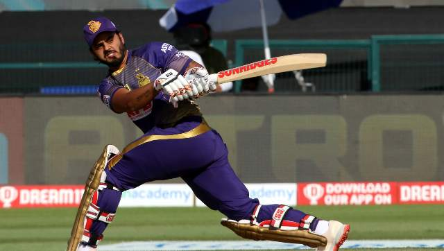 Nitish Rana had scored 352 runs in 14 matches during the IPL 2020 season held in UAE. Sportzpics