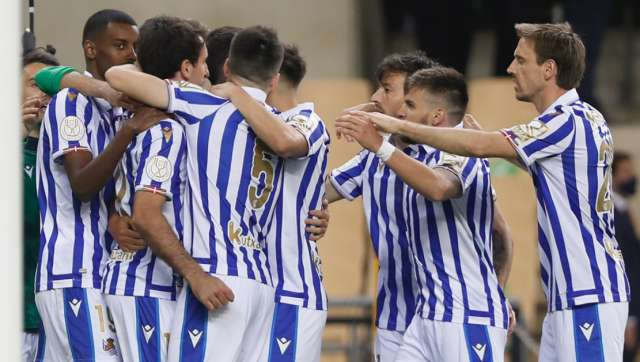 Copa del Rey Real Sociedad beat Basque rivals Athletic Bilbao 10 for first title in 33 years