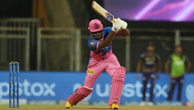 Sanju Samson was another major factor behind Rajasthan Royals' win, as he scored a composed knock of 42 runs in 41 balls. SportzPics