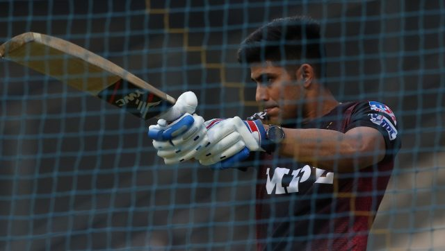 Shubman Gill has only scored 80 runs in five matches for Kolkata Knight Riders so far. Image: Sportzpics for IPL