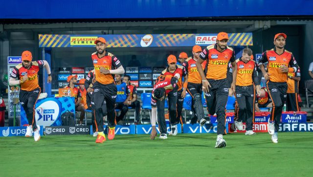 SRH are at the bottom of IPL 2021 points table. Image: Sportzpics