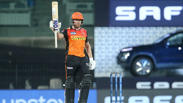Jonny Bairstow of Sunrisers Hyderabad smashed a fifty and batted till the end to guide his team home. Sportzpics