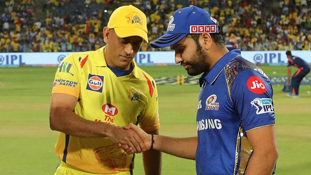 Mahendra Singh Dhoni, captain of Chennai Super Kings and Rohit Sharma, captain of Mumbai Indians. Sportzpics