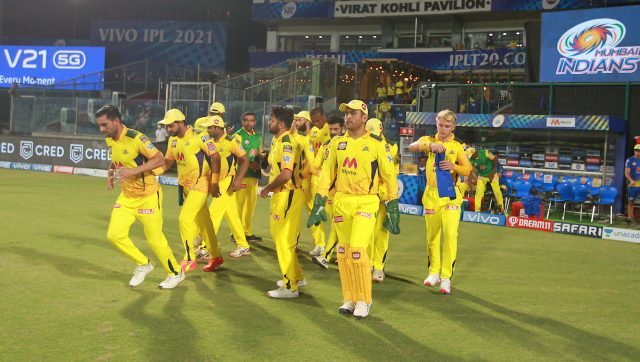 CSK contingent is currently in hard quarantine. Image: Sportzpics for IPL