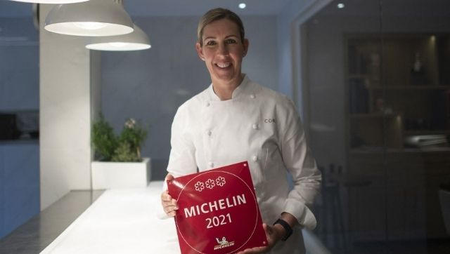 Chef Clare Smyth reopens restaurant after becoming the first British woman to win three Michelin stars